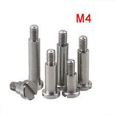 uxcell 5pcs 303 Stainless Steel Shoulder Screw 5mm Shoulder Dia 30mm Shoulder Length M5x8mm Thread