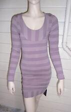 Metalicus Womens Dream Long Sleeve Bodycon Dress BNWT- Hazy- rrp $139