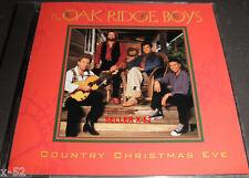 The OAK RIDGE BOYS cd COUNTRY CHRISTMAS EVE rare Blue X-mas JESUS is born today