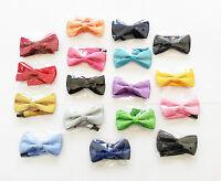 BNWTs  Hand Made In England Duchamp London Jacquard Silk Bow Tie