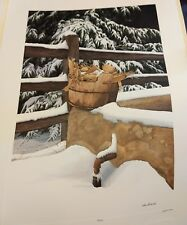 "Bob Timberlake ""Feed Corn""  Signed & numbered #432/#1000"