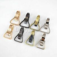 Alloy Snap Swivel Hook Lobster Clasp Keychain Bag Buckles clips Leather Craft