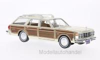 Chrysler Le Baron Town & Country 1979 - hellbeige/Holzoptik - 1:24 MotorMax