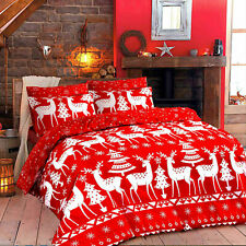 Cristine Christmas Duvet Cover with Pillow Case Quilt Cover Bedding Set All Size