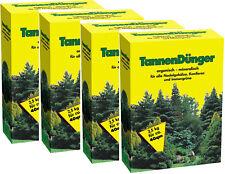 # 10kg TANNENDÜNGER,Koniferen,Tannen  Lebensbaum Zypressen Dünger 4x 2,5 kg