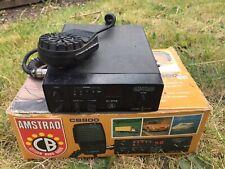 Vintage Boxed Amstrad CB Radio (Model: CB900) - Made in Japan