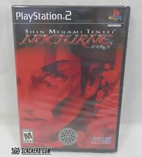 Shin Megami Tensei NOCTURNE (SONY PlayStation 2) NEW Factory Sealed! Y-Folds RPG