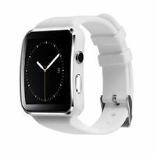 Dorado x6 smartphone reloj pulsera celular impermeable facebook whatsapp Samsung