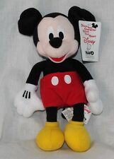 """Disney Mickey Mouse 10"""" Plush Doll - Stuffed Toy Licensed NWT"""