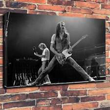 """Status QUO STAMPA FOTO SU TELA A1.30""""x20"""" 30mm Deep ROCK AND ROLL Heavy Rock"""
