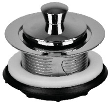 """Mobile Home 1/2"""" Chrome Tub Drain with Push/Pull Seal"""