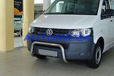 Frontbügel Bullenfänger Frontschutzbügel Rammschutz VW T5 T6 Transporter