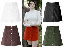 Unbranded Corduroy Short/Mini Casual Skirts for Women