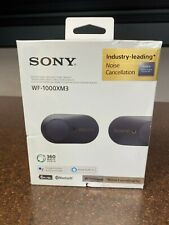 Sony WF-1000XM3 Wireless Noise Cancelling Headphones - Black