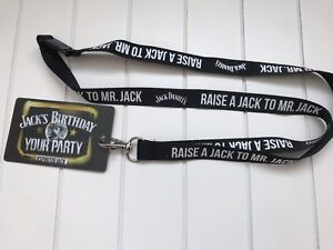 Jack And Coke Lanyard