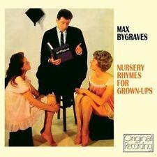 CD MAX BYGRAVES NURSERY RHYMES FOR GROWN-UPS BARBARA VAN PEEPS MARYLN MUFFET ETC