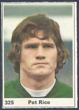 MARSHALL CAVENDISH TOP TEAMS 1971- #325-NORTHERN IRELAND & ARSENAL-PAT RICE