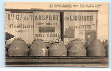 *Zeebrugge Belgium English Submarine Mines Old Vintage Postcard B93