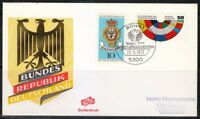 Germany 1978 cover SST Sonderstempel Bonn  Presidential election Karl Carstens