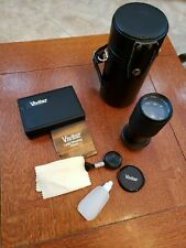 Vivitar 70-210mm 1:4.5 Macro Zoom Lens for Film Camera Leather Case Cleaning Kit