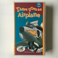 There Goes An Airplane. VHS Video Tape Real Wheels Aeroplane Fighter Jet Plane