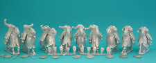 28mm Curteys 6 x C13th Medieval Crusades Knights 03 lion Rampant Saga unpainted