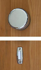 Imperial Wind-up Doorbell, Chrome