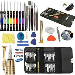 Mobile Phone Repair Opening Tool Kit Screwdriver Set For iPhone iPad Samsung UK