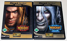 Warcraft 3 III Reign of Chaos & expansión set Frozen Throne-Gold Edition DVD