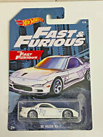2019 Hot Wheels Fast and Furious '95 Mazda RX-7 REAL RIDERS SUPER CUSTOM