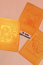USA Seller Anime English Egyptian God Golden Metal Card Obelisk Slifer RA