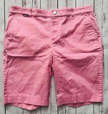 "LRL Ralph Lauren Pink Bermuda Shorts Size 8P Petite Walking Chinos 10"" Inseam"