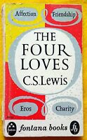 The Four Loves by C.S.Lewis Affection Friendship Eros Agape vintage paperback