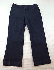 Gap Women's 12 Regular Dark Wash Curvy Fit Flared Leg Denim Blue Jeans Pants