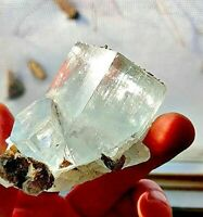SALE Huge  Aquamarine Cluster, Penetrating Crystals, Phantoms. Fully Terminated