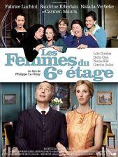 Affiche 120x160cm LES FEMMES DU 6E ÉTAGE (2011) Fabrice Luchini, Kiberlain NEUVE