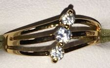 Copper Band Yellow Gold Filled Costume Rings
