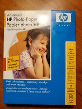 """HP Advanced Glossy Photo Paper New Sealed 60 Sheets 5"""" x 7"""" Q8690A"""