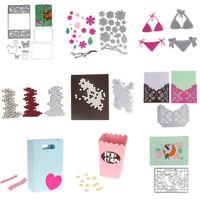 DIY Metal Cutting Dies Stencil Scrapbooking Embossing Craft Paper Card Decor Hot