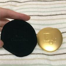 Christian Dior Compact Mirror Gold limited F/S JAPAN