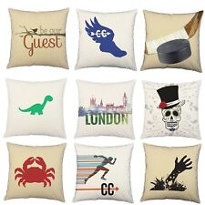 1pc Assorted Decorative Throw Pillow Cover Indoor Cotton Outdoor Polyester Sham