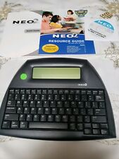 Alpha-Smart NEO 2 Laptop Word Processor W/ some accessories, Used, works great!