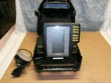 Humminbird Portable Fish Depth Finder Transducer Cable Carry Case Ice Fishing