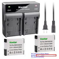 Kastar Battery Rapid Charger for Panasonic Lumix DMCSZ35 ZS40 ZS45 ZS50 Z60 Z100