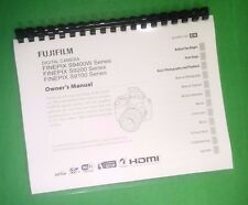 LASER PRINTED Fujifilm S9100 S9200 S9400W FinePix Camera 143 Page Owners Manual
