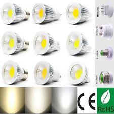 5 / 10PCS Lamp Ultra Bright MR16 GU10 E26 E27 E14 LED COB Light Bulb 6W 9W 12W
