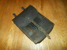 WW2 Luftwaffe Wehrmacht M35 Leather Map / Dispatch Case & Contents #- VERY NICE!