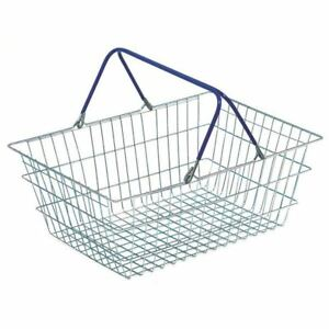 Wire Shopping Baskets (Pack of 5) [SBY33666]