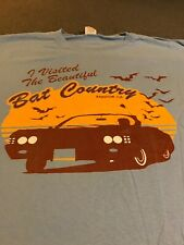 Fear And Loathing In Las Vegas T-Shirt L Rare IVisitedTheBeautifulBatCountry