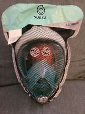 Decathlon Subea EasyBreath Full Face Snorkel Mask Size S/M New In Package